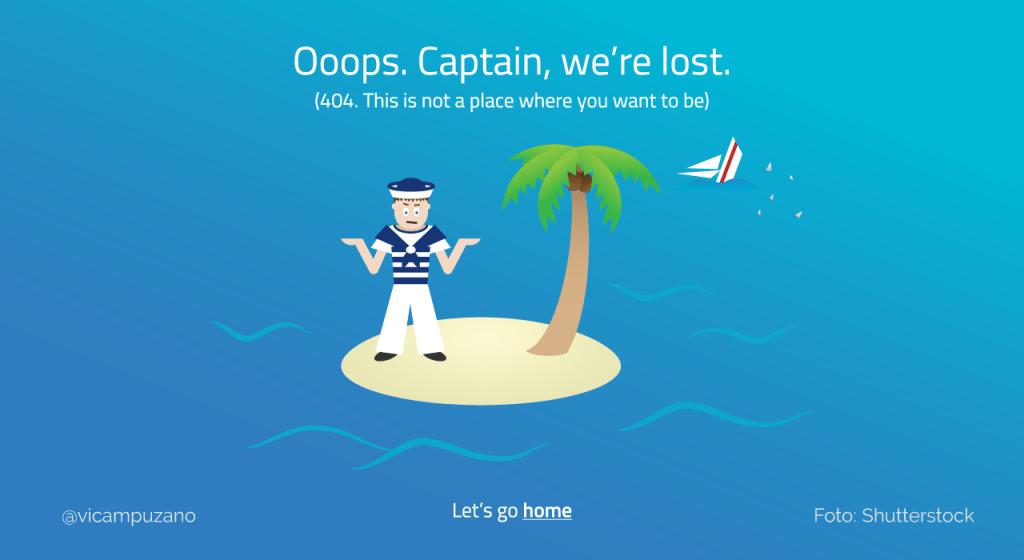 Errores 404 Search Console