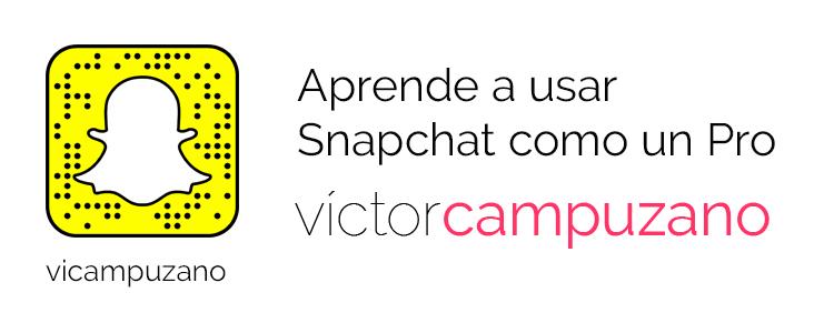 Curso Aprende Snapchat